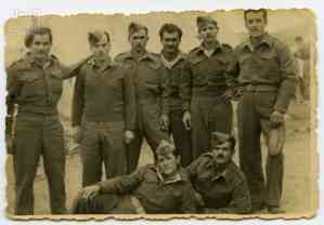 Soldiers of the First Sappers Battalion