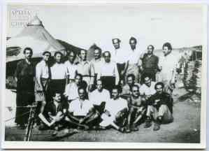 Political exiles in Makronissos, 1949