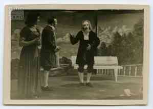 "Scene from the performance of Moliere's ""The Miser"""