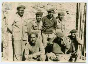Imprisoned deposed officers of the First Sappers' Battalion, 1949