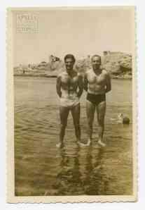 Ανθυπολοχαγοί Αλέκος Σιώτης και Μένιος Αλεξιάδης