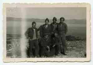 Στρατιώτες στο «Σύρμα» του Α' Τάγματος Σκαπανέων