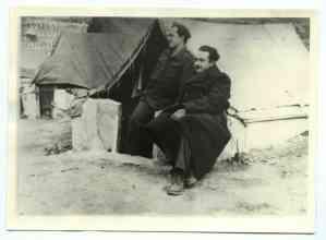 Στρατιώτες του Α' Τάγματος μετά το αιματοκύλισμα του 1948