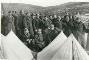 Στρατιώτες του Β' Τάγματος Σκαπανέων