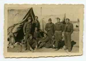 Στρατιώτες του 4ου Λόχου του Α' Τάγματος Σκαπανέων