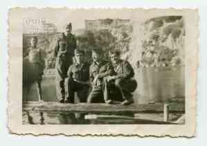 Στρατιώτες του Α' Τάγματος Σκαπανέων στον Άγιο Νικόλαο Κρήτης