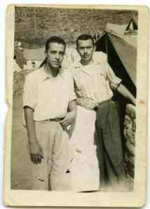 Ilias Argyrakis and a fellow detainee