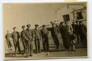 Α' Τάγμα Σκαπανέων, Επισκέπτες, 1949