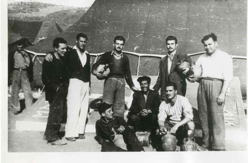 1949. Προληπτικώς συλληφθέντες στην περιοχή Αμαλιάδας