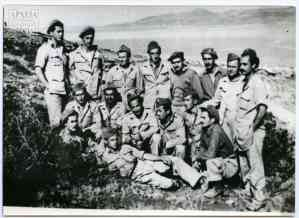 """First Battalion. """"Syrma"""" (""""barbed wire"""" cells) June 1948"""