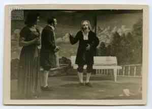 Στιγμιότυπο από τη θεατρική παράσταση «Ο Φιλάργυρος» του Μολιέρου