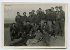 Lecturer Kostas Despotopoulos and other sappers in isolation