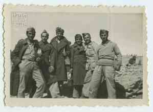 At the First Battalion: the last group of soldiers sent from the Third Battalion