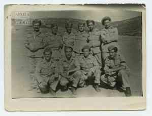 Μια ομάδα δόκιμων αξιωματικών του 9ου Λόχου του Β' Τάγματος
