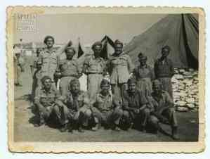 Soldiers of the Second Sappers Battalion