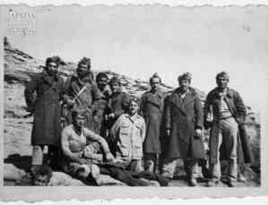 Στρατιώτες του Γ' Τάγματος από τη Μακεδονία