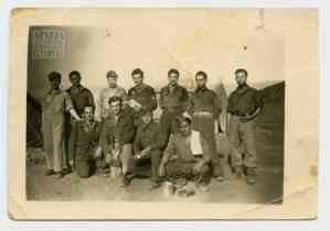 Soldiers of the Second Battalion in Porto Rafti
