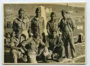 Στρατιώτες του Γ' ΕΤΟ από τη Θάσο