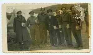 Στρατιώτες του Α' Τάγματος Σκαπανέων