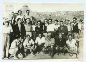 Left intellectuals, artists, and scientists at Makronissos