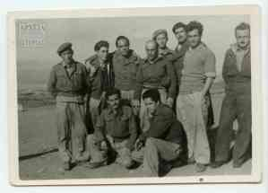 A group of soldiers with professor Kostas Despotopoulos