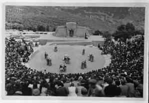 The Third Battalion's theatre