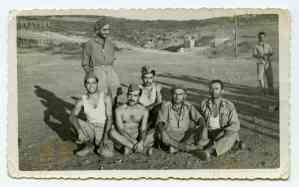 Στρατιώτες του Α' Τάγματος λίγο καιρό μετά τα γεγονότα του Φεβρουαρίου-Μαρτίου 1948