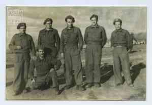 Εθνοφρουροί του 7ου Λόχου του Α' Τάγματος Σκαπανέων