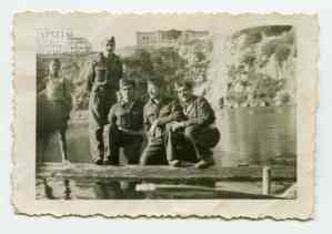 First Sappers Battalion troops at Ayios Nikolaos, Crete