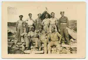 Στο στρατόπεδο του Α' Τάγματος Σκαπανέων στη Μακρόνησο