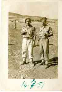 Ο Πάνος Κερκουλάς στο Μακρονήσι το 1951